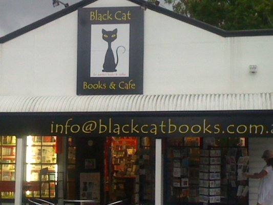 black cat books