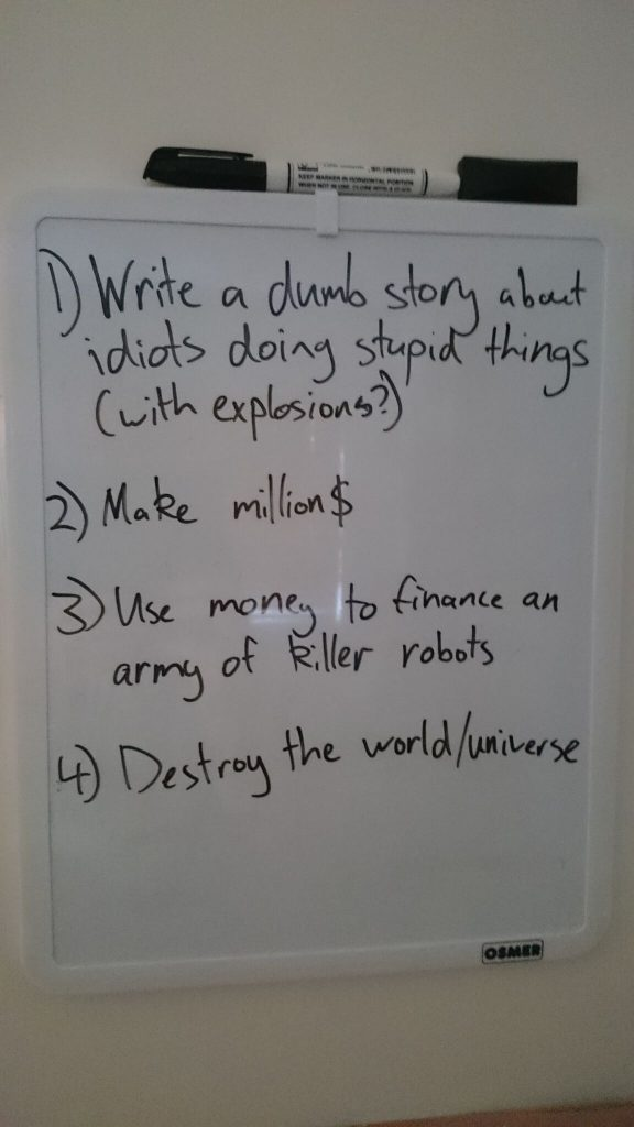 whiteboard list
