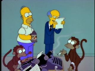 """it was the best of times, it was the BLURST of times?!? You stupid monkey!"""